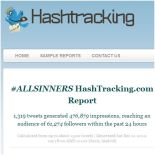 hashtracking report 1 12 2012 all sinners